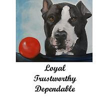 Pit Bull Loyalty List by SurfCityArt
