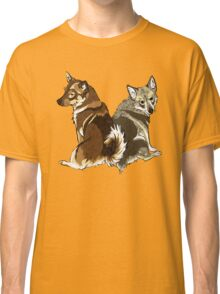 Vallhunds - Natural Colours Classic T-Shirt