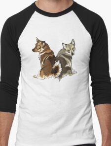 Vallhunds - Natural Colours Men's Baseball ¾ T-Shirt