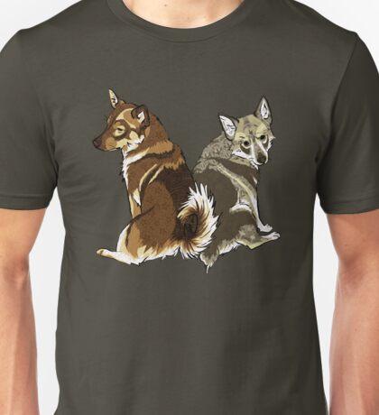 Vallhunds - Natural Colours Unisex T-Shirt