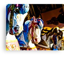 Carousel History Canvas Print
