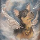 Chihuahua Angel (Maya) by SurfCityArt
