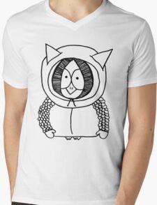 Kenny Owl Mens V-Neck T-Shirt