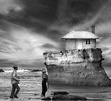 Coastal Home At Jan Juc Beach by Mick Kupresanin