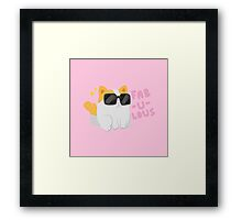 Fab-u-lous Kitty Framed Print