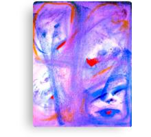 """Skitzoeffective 10"" by Chip Fatula Canvas Print"
