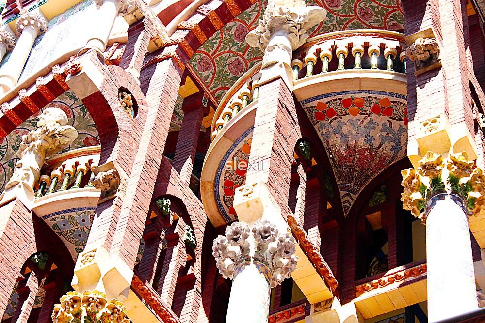 Gaudi, Barcelona by slexii