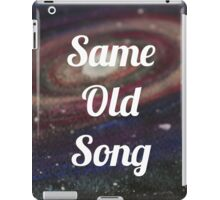 Galaxy - space - hipster Design iPad Case/Skin
