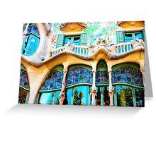 Casa Batlló Greeting Card