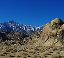 """Sleeping ghost"", Alabama Hills, California by Claudio Del Luongo"