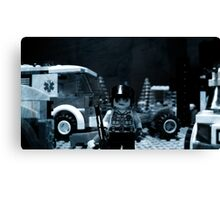 Lego Police Officer Canvas Print
