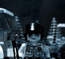 Lego Police Officer Sticker