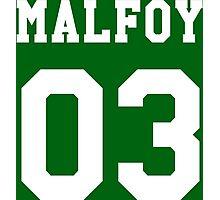 Malfoy 03 Draco malfoy - white Photographic Print
