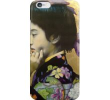 Japanese Geisha: Tehura  iPhone Case/Skin