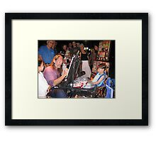The Artist and the Model - 2006 Framed Print