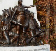 Gettysburg National Park - Alabama Memorial Sticker