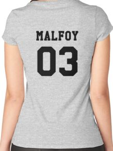 Malfoy 03 Draco malfoy - Black Women's Fitted Scoop T-Shirt