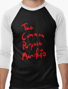The Common Purpose Manifesto t-shirt Men's Baseball ¾ T-Shirt