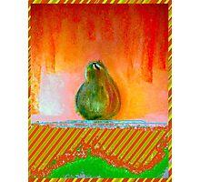 """Enhanced Pear"" Photographic Print"