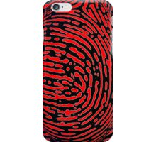 Fingerprint Bubble II iPhone Case/Skin