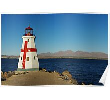 Lighthouse, Lake Havasu, Arizona Poster