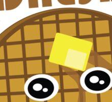 Waffle Wednesday Sticker