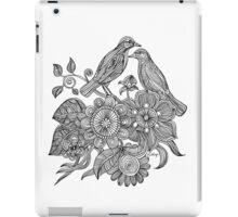Bird Doodle - Work in Progress iPad Case/Skin