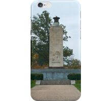 Gettysburg National Park - Eternal Peace Light Memorial iPhone Case/Skin