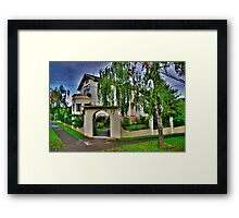 typical home Framed Print