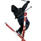 Free Style ski Jumper by neil harrison