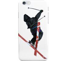 Free Style ski Jumper iPhone Case/Skin