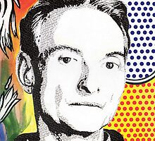 Literally Roy Lichtenstein by Gary Hogben