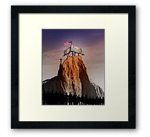 The Balanced Approach Framed Print