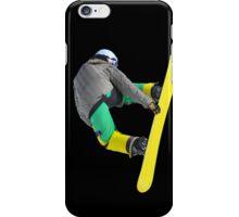 Freestyle snowboarder iPhone Case/Skin
