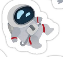Floating Astronauts Sticker
