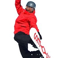 Free Style ski Jumper by neil harrison