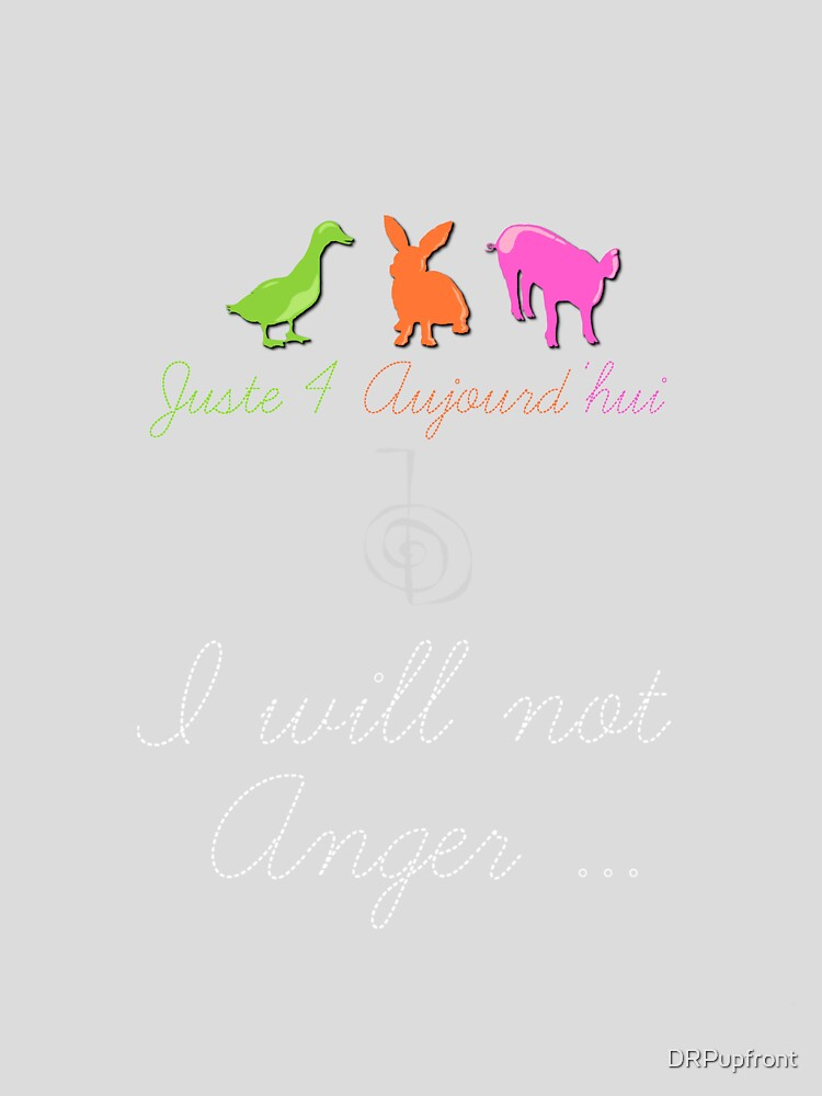 Juste4Aujourd'hui <NEW 2013> I will not Anger by DRPupfront