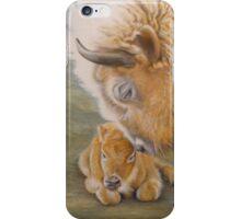Miracle Moon & Silver Spirit - White Buffalo iPhone Case/Skin