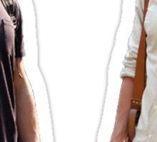 Dan and Nate Gossip Girl Sticker
