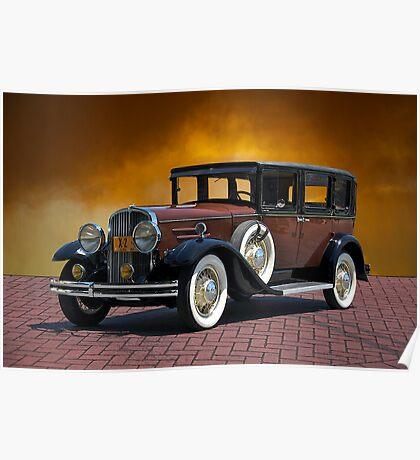 1930 Franklin Formal Sedan Poster