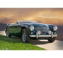 19XX Austin-Healey Sports Car Photographic Print