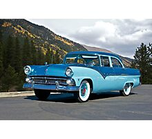 1955 Ford Family Sedan Photographic Print