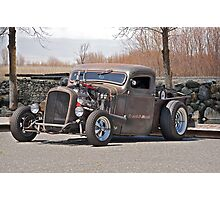 Raunchy Rat Rod Photographic Print