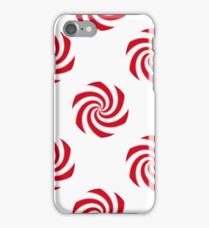 Peppermint Candy Swirls Pattern iPhone Case/Skin