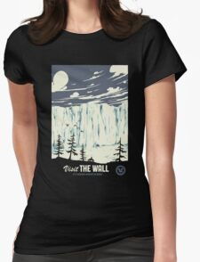 The wall Womens Fitted T-Shirt