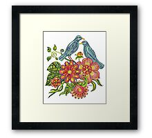 Fly Away With Me Framed Print