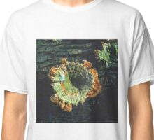 Huge Orange & Green Turkeytails Classic T-Shirt