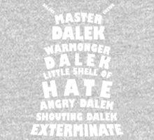 Master Dalek ('Soft Kitty' style) WHITE Kids Clothes