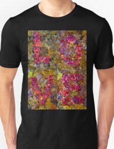 Leaf Foliage Love Letters T-Shirt