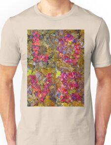 Leaf Foliage Love Letters Unisex T-Shirt